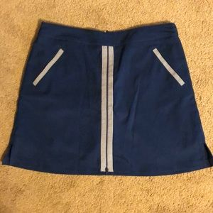 Lady Hagen Blue Golf Skort with Pockets